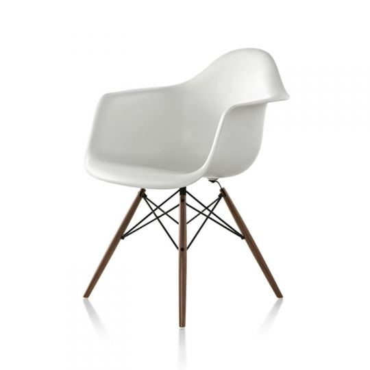 Pleasant Eames Daw Molded Plastic Armchair With Wood Dowel Base Ocoug Best Dining Table And Chair Ideas Images Ocougorg