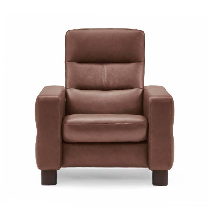 Enjoyable Stressless Wave Highback Chair Creativecarmelina Interior Chair Design Creativecarmelinacom