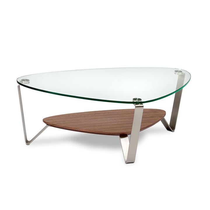 Bdi Dino 1344 Small Triangular Coffee Table Design Quest