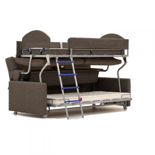 Luonto Elevate Convertible Sofa With Bunk Beds