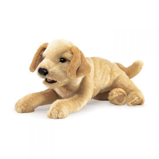 Folkmanis Yellow Labrador Puppy Hand Puppet Design Quest