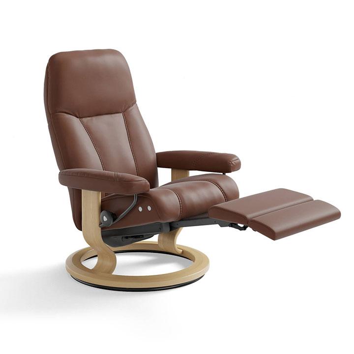 Magnificent Stressless Consul Recliner Legcomfort Creativecarmelina Interior Chair Design Creativecarmelinacom